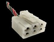 Plug Chicote Conector Do Comando Ar Condicionado Mitsubishi Pajero Outdoor 2012 2013 2014 7820A305 ref 19706