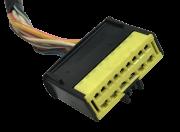 Plug Chicote Conector Do Comando De Ar Condiconado Logan Sandero 2009 Á 2012 8200774411 ref sku 4602
