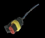 Plug Chicote Conector Do Sensor De Temperatura Do TID Corsa Zafira Meriva Vectra Montana Astra