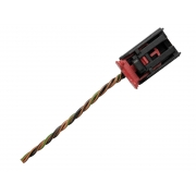 Plug Conector Chicote 014191585 6 Vias 3 Fios do Botão Interruptor de Luz de Emergência Pisca Alerta do Painel 2m5t13a350aa Ford Focus 01 02 03 04 05 06 07 08
