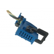 Plug Conector Chicote 12 Vias 4 Fios do Botão Interruptor Farol De Milha Desembaçador Traseiro do Painel 1001852100 Fiat  Punto Uno 013 014 015 016 017