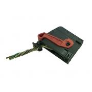 Plug Conector Chicote 18 Vias 11 Fios do Conjunto Botão do Painel Interruptor de Pisca Alerta Luz de Emergência Desembaçador Traseiro e Trava de Poetas 100195916 Fiat Punto Linea 013 014 015 016 017