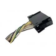 Plug Conector Chicote 18 Vias 12 Fios do Comando Controle de Ar Condicionado do Painel 662366X 7701047440 Renault Scenic 96 97 98 99 00 01 02 03 04 05 06 07 08