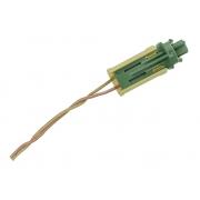 Plug Conector Chicote 2 Vias 2 Fios da Bolsa Air Bag Cortina de Teto 9654839880 9654839980 Citroen C4 07 08 09 010 011 012 013