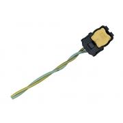 Plug Conector Chicote 2 Vias 2 Fios da Bolsa Air Bag Cortina de Teto Lateral Esquerdo 610880801a Lateral Direito 610880800a Mitsubishi Outlander 08 09 010 011 012 013