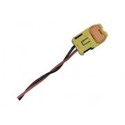 Plug Conector Chicote 2 Vias 2 Fios da Cortina Lateral Esquerdo ou Direito Bolsa Air Bag de Teto 850102v000 850202V000 Hyundai Veloster 011 012 013 014