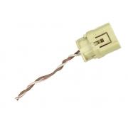 Plug Conector Chicote 2 Vias 2 Fios do Sensor de Colisão Impacto Frontal Crash Sensor Air Bag TRW 891730k010 Toyota Hilux SW4 06 07 08 09 010 011 012 013 014 015
