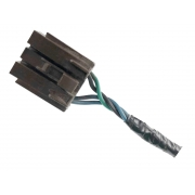Plug Conector Chicote 5 Vias 4 Fios do Servo Motor Atuador da Portinhola Recirculador de Ar Condicionado da Caixa de Ar Valeo 2765010m Renault Clio 01 02 03 04 05 06 07 08 09 010 011