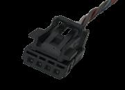 Plug Conector Chicote 8e0973754 do Botão De Vidro Elétrico Motorista Dianteiro 6q0959858 Fox Polo Gol Parati Voyage Saveiro G4 G5 G6 Ref 1820