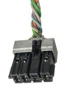 Plug Conector Chicote Do Botão Do Vidro Elétrico Peugeot 206 207 1999 a 2010 ref 26766