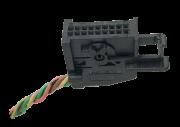 Plug Conector Chicote Do Display Computador De Bordo 206 207 307 C3 96636540xt ref 11645