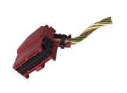 Plug Conector Chicote Do Módulo De Alarme Ultrassom Audi A3 A4 A6 443971883b