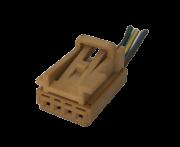 Plug Conector Chicote 8e0973754a Do Botão Interruptor de Vidro Traseiro 5z0959858a Fox Cross Space Polo 05 06 07 08 09 010 011 012 ref  13011