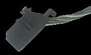 Plug Conector Chicote Do Botão de Abertura do Porta Malas Vw Gol Voyage G6 G7 014 015 016 017 018 018 020