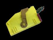 Plug Conector Chicote 63 Vias 13 Fios 6Q0972509M do Modulo Central ECU Centralina de Air Bag 1c0909605k 5wk43125 Vw Fox Cross Space 09 010 011 012