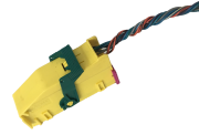 Plug Conector Do Modulo De Air Bag Gol Saveiro Voyage G5 2009 a 2012 6Q0972509K