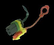 Plug Conector Do Sensor D Colisão Impacto Air Bag Captiva 2008 2013 96814915