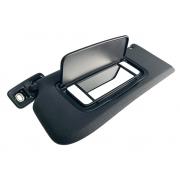 Quebra Sol Lado Esquerdo Motorista Preto com Iluminação e Espelho Volvo xc60 014 015 016 017 IAG