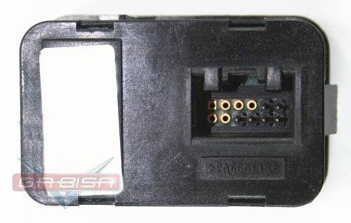Conjunto Botão Interruptor de Vidro Elétrico Duplo Motorista 93350565 Gm Astra Agile Montana Corsa Meriva 03 04 05 06 07 08 09 010 011 012