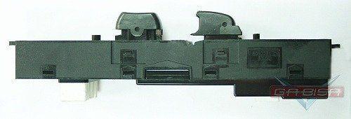 Conjunto Botão Interruptor de Vidro Elétrico e Trava Porta Dianteira Passageiro Hyundai Azera 06 07 08 09 010 011 012