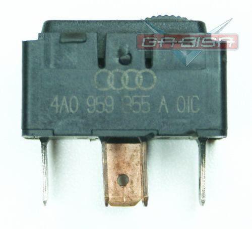 Botão Audi A80 S6 A4 A6 De 94 Á 97 De Vidro Cod 4a0959855a