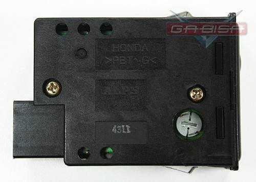 Botão Interruptor de Regulagem de Luz Iluminação do Painel Reostato Honda Accord 94 95 96 97