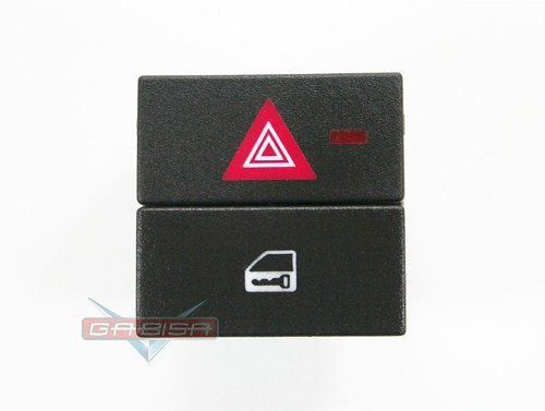 Botão Interruptor De Trava e Pisca Alerta Do Painel Original 93332974 Gm Meriva 03 04 05 06 07 08 09 010 011 012