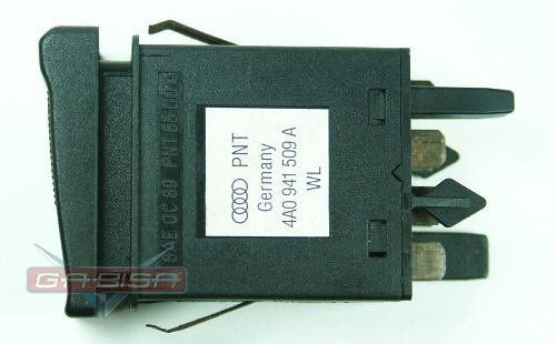 Botão Interruptor Audi A6 96 D Pisca Alerta 4a0941509a