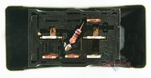 Botão Interruptor De Luz de Emergência Pisca Alerta 6 Pinos Com Led de Alarme do Painel 24416080 Gm Astra 99 00 01 02 03 04 05 06 07 08 09 010 011
