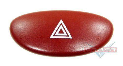 Botão Interruptor De Pisca Alerta do Painel 9643213777 Peugeot 206 Picasso 03 04 05 06 07 08