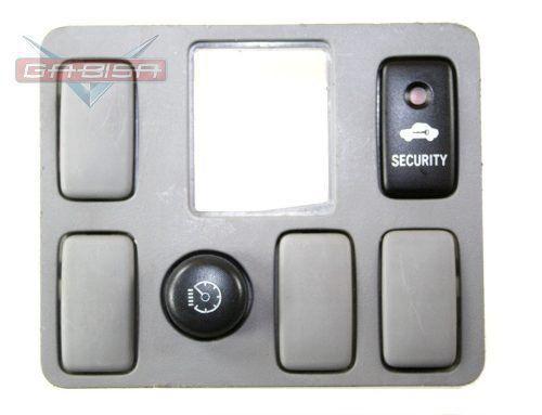 Moldura C Botão Reostato E Security D Painel P Hilux 06 010