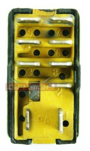 Botão Interruptor De Pisca Alerta Do Painel Luz de Emergencia 337953235 Ford Versailes 92 93 94 95 96