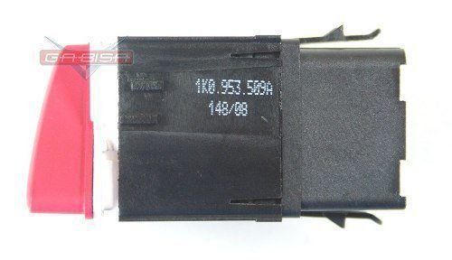 Botão Interruptor De Pisca Alerta Luz de Emergencia Do Painel 1K0953509A Vw Jetta 07 08 09 010
