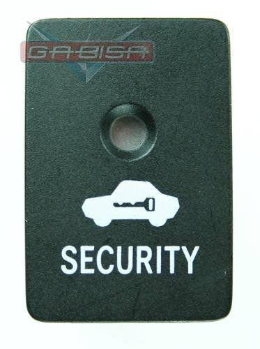 Botão Interruptor Led Indicador do Alarme Security do Painel Toyota Corolla 09 010 011 012 013