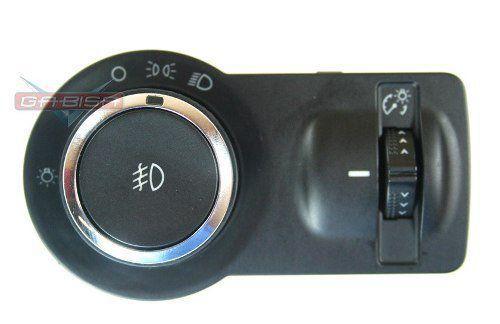 Botão Interruptor de Farol Lanterna Milha e Reostato Luz do Painel 96892113 Gm Sonic 012 013