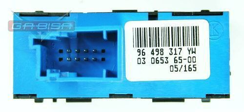 Botão Interruptor do Painel Esp Trava E Estacionamento Citroen C5 01 02 03 04 05