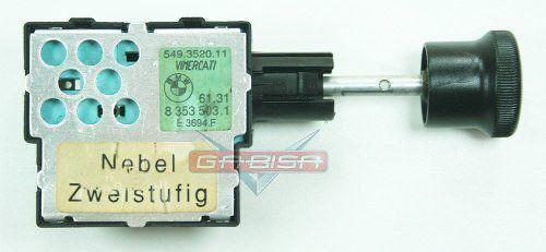 Botão Interruptor Bmw 318 95 D Milha E Neblina 83535031
