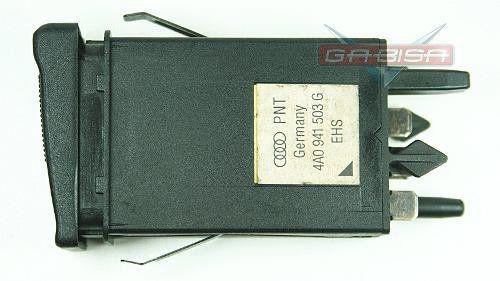 Botão Interruptor  Audi A6 96 Desembaçador Tras 4a0941503g