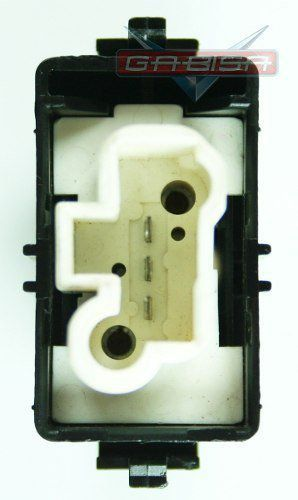 Botão Toyota Corolla 95 Á 97 De Vidro Simples 3 Pinos