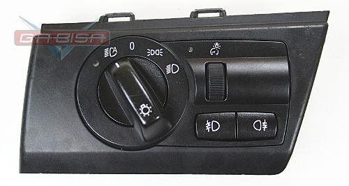 Botão Interruptor Bmw X3 09 D Farol E Milha Do Painel