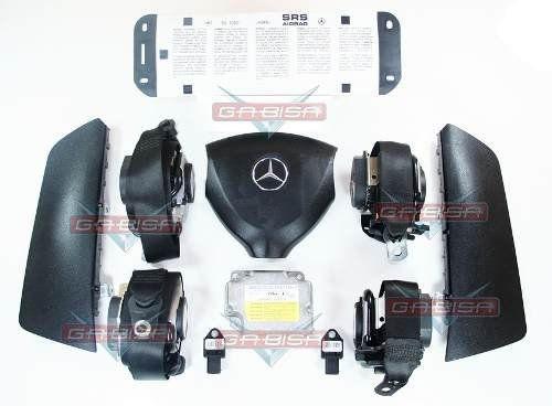 Kit Air Bag Mercedes A200 2006 Bolsas Cintos Modulo