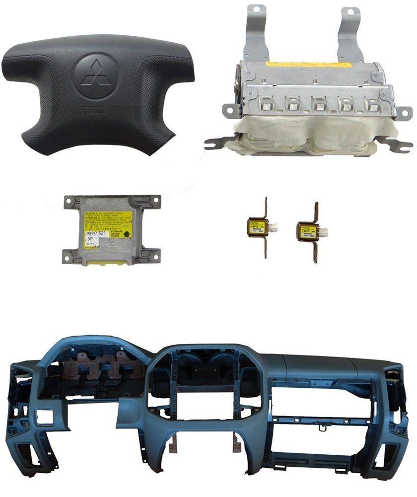 Kit Air Bag Bolsa Modulo Sensor Painel Original Mitsubishi Pajero Full 01 02 03 04 05