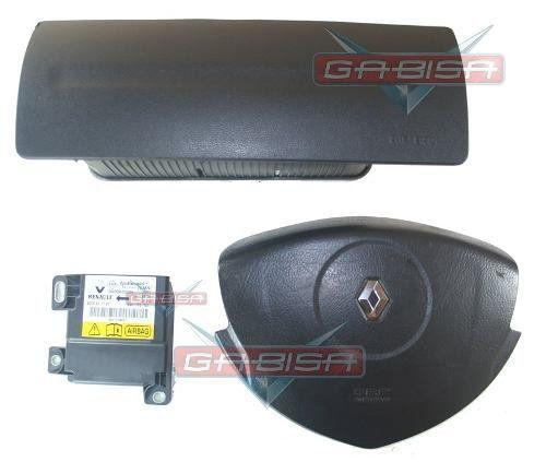 Kit Air Bag D Painel Bolsas E Modulo P Renault Logan 011 013