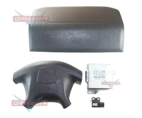 Kit Air Bag Duplo Bolsas Modulo Sensor Mitsubishi Pajero Tr4 00 01 02 03 04 05 06 07 08 09