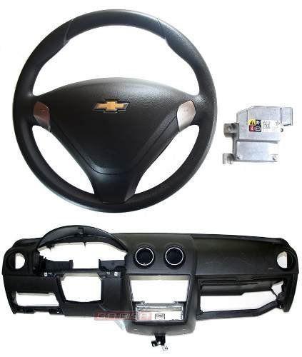 Kit Air Bag Bolsas Modulo Volante Painel P Gm Celta 013 015