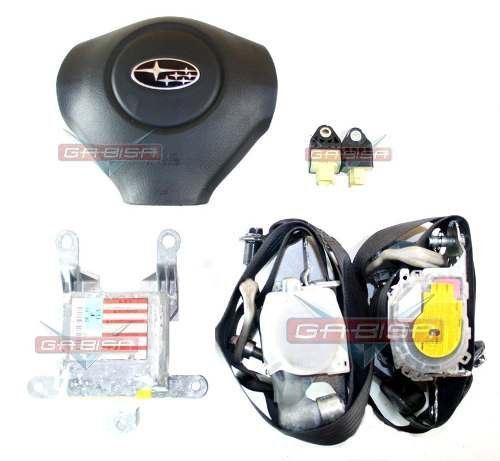 Kit Air Bag Bolsa Modulo Cinto Sensor P Subaru Foreste 09