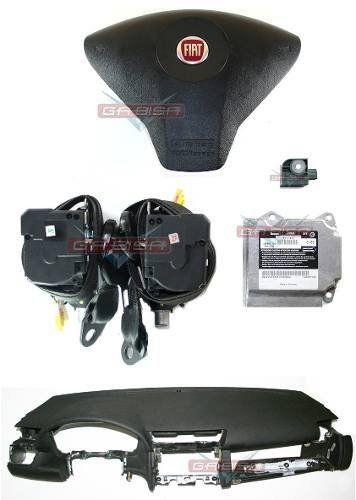 Kit Air Bag Stilo 08 012 Bolsa Cinto Modulo Painel Fiat