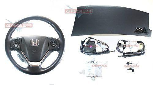 Kit Air Bag D Painel Bolsa Modulo Cinto Honda Crv 013 014