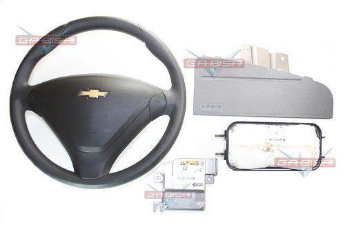 Kit Air Bag Volante Bolsa Modulo Moldura P Corsa Classic 014
