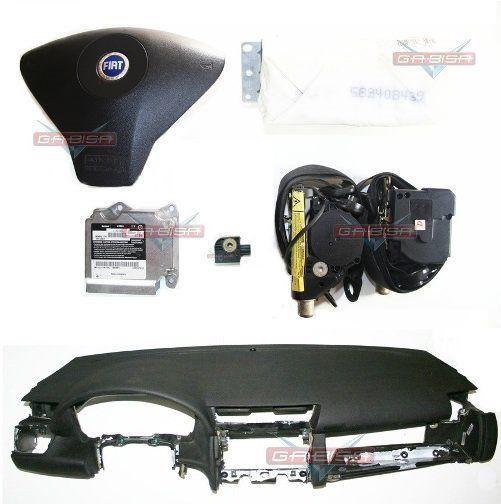 Kit Air Bag Bolsa Cinto Modulo Sensor P Fiat Stilo 2002 2007